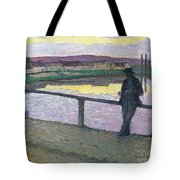 Sunset On Pont Tote Bag