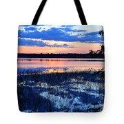 Sunset On Porcupine Lake Tote Bag