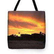 Sunset On Sanibel Tote Bag