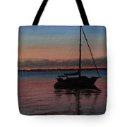 Sunset On St. Andrew Bay Tote Bag