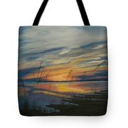 Sunset On St. Andrew Tote Bag