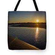 Sunset On St. Simons Island Tote Bag