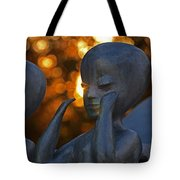 Sunset On The Alien Tote Bag