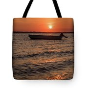 Sunset On The Bay Lavallette New Jersey  Tote Bag