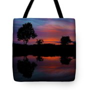 Sunset On The Bladnoch Tote Bag