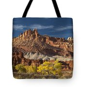Sunset On The Castle Tote Bag