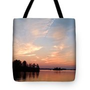 Sunset On The Chippewa Tote Bag