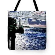 Sunset On The Columbia River Tote Bag