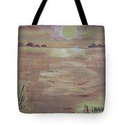 Sunset On The Desert Tote Bag