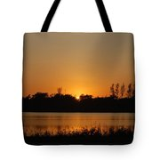 Sunset On The Edge Tote Bag