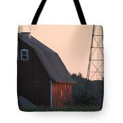 Sunset On The Farm Tote Bag