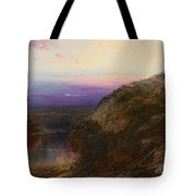 Sunset On The Hudson Tote Bag