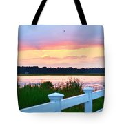 Sunset On The Indian River Tote Bag