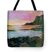 Sunset On The Isle Of Skye Tote Bag