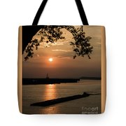 Sunset On The Mississippi Tote Bag