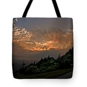 Sunset On The Parkway Tote Bag