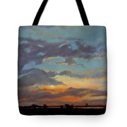 Sunset On The Prarie Tote Bag