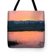 Sunset On The Refuge Tote Bag