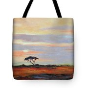 Sunset On The Serengheti Tote Bag