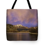 Sunset On The Snake River Tote Bag