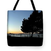 Sunset On The Sound 2 Tote Bag