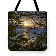 Sunset On The Sound2 Tote Bag
