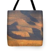 Sunset On The South Rim Of The Canyon Tote Bag