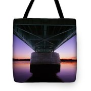 Sunset On The Susquehanna Tote Bag