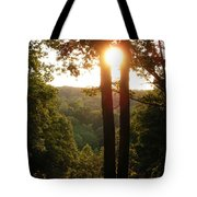 Sunset On The Trace Tote Bag