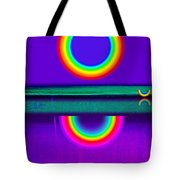 Sunset On Violet Tote Bag