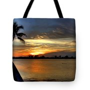 Sunset Or Sunrise Tote Bag