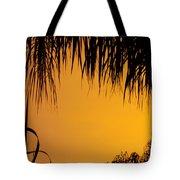 Sunset Orange After Storm Tote Bag