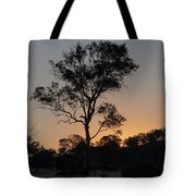 Sunset - Out In The Country Tote Bag