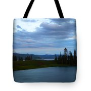 Sunset Out West Tote Bag