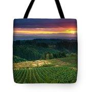 Sunset Over Central Oregon 4 Tote Bag