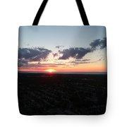 Sunset Over Cleveland Tote Bag