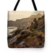 Sunset Over Dubrovnik Tote Bag