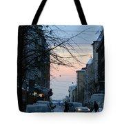 Sunset Over Helsinki Tote Bag