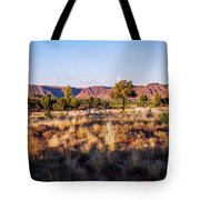 Sun Setting Over Kings Canyon - Northern Territory, Australia Tote Bag