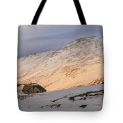 Sunset Over Lakes Of The Clouds Tote Bag