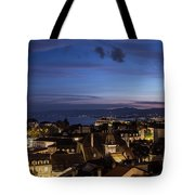 Sunset Over Lausanne   Tote Bag