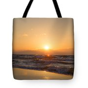Sunset Over  Tote Bag