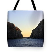 Sunset Over Lovers Beach Tote Bag