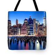 Magic Manhattan Tote Bag