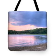 Sunset Over Monk's Park Tote Bag
