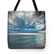 Sunset Over Naples Beach Tote Bag