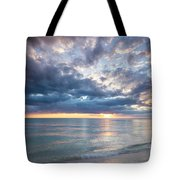 Sunset Over Naples Beach II Tote Bag
