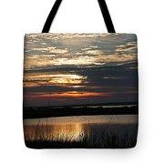 Sunset Over Navarre Tote Bag