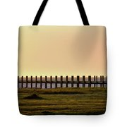 Sunset Over Pamlico Sound Tote Bag