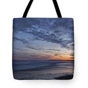 Sunset Over Rye New Hampshire Coastline Tote Bag